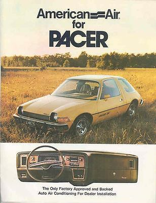 1975 AMC Pacer X American Air Conditioner Brochure wp5376-X1BK3H
