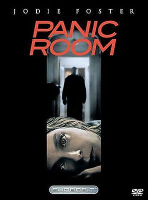 Panic Room DVD, 2002, The Superbit Collection Jodie Foster FREE SHIPPING U.S.A.