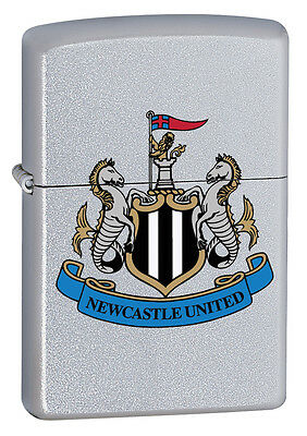 Zippo Lighter Official Newcastle United Football Club Personalised Engraved Free