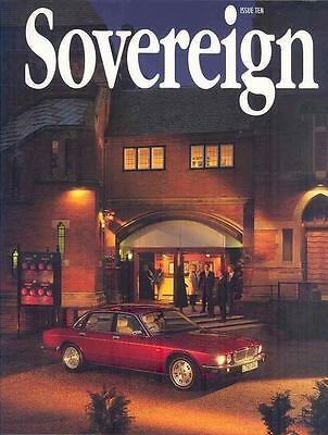 1994 Jaguar Sovereign Factory Magazine German XJ6 XJS  wo4304-RPGMLG