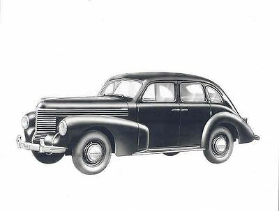 1948 1949 1950 Opel Kapitan ORIGINAL Factory Photo wo4708-AQ9GOF