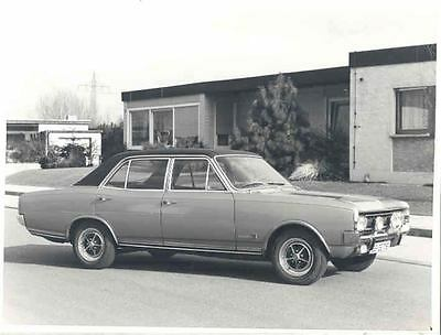1968 Opel Commodore GS ORIGINAL Factory Photo wo4733-MPJR6N