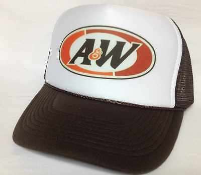 2b5620d084b A W ROOTBEER TRUCKER Hat mesh Hat Snap Back Hat brown -  199.00 ...