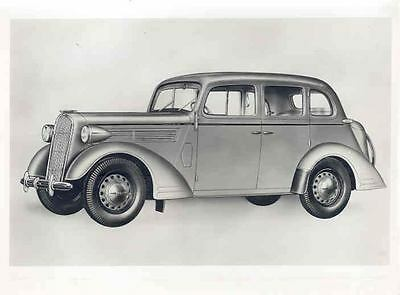 1937 1938 Opel Super 6 ORIGINAL Factory Photo wo5702-DMFFOH