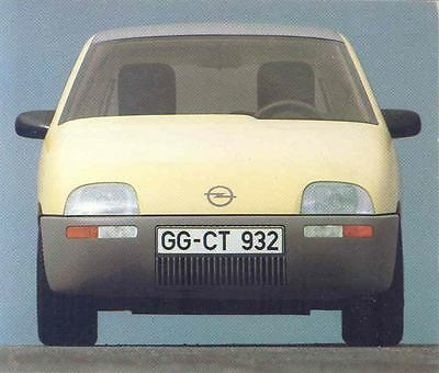 1998 Opel Junior Concept Experimental ORIGINAL Factory Photo wo7048-B4A35S