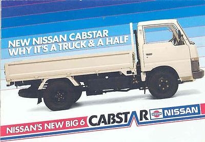 1989 ? Nissan Cabstar Truck Brochure South Africa wo7442-11JC7C