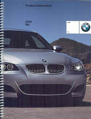 2006 BMW M5 Salesman's Book wo7455-BOX8DB