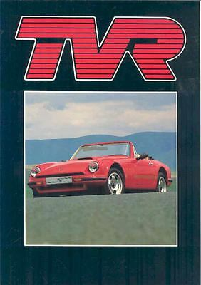 1986 1987 1988 TVR S Convertible Brochure French wo759-5DP961