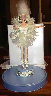 Swan Lake 1991 Barbie Doll with Music Box Great Shape!