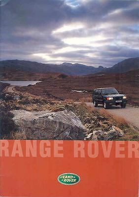 1997 Ranage Rover Prestige Brochure German wo8316-T6TKAO
