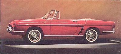1961 Renault Caravelle Brochure wo8881-LKHXBY