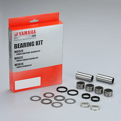 Genuine Yamaha Swing Arm Pivot Bearing Kit YZ450F 2010-2015 YZ250F 2014-2015