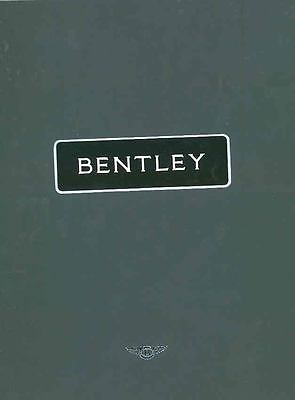 1993 Bentley Prestige Brochure wq7931-J31ZZS