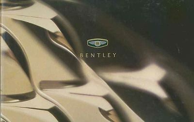 2001 Bentley Prestige Brochure wq7934-ZXV8QE