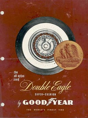 1954 Goodyear Double Eagle Tire Brochure wq8788-MMXGYJ