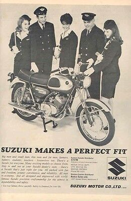 1967 Suzuki Magazine Ad we4040-B9FTOU