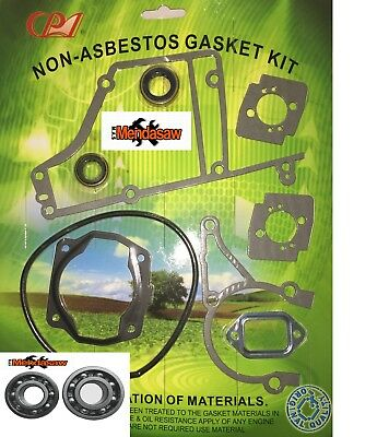 Spare Parts For Stihl Ts400 Gasket Set C/w 2 Crank Seals And Other Gaskets