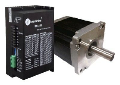 One Axis NEMA 42  2832 oz-in (20 N.m) Stepper Motor & 120 VAC CNC Stepper Drive