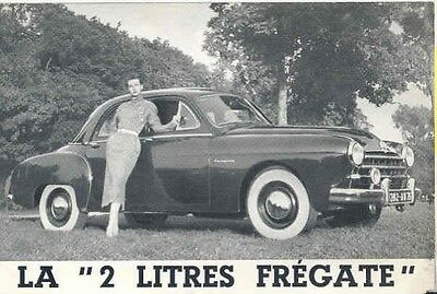 1951 Renault Fregate Sales Brochure French wb3350-CN9QUU