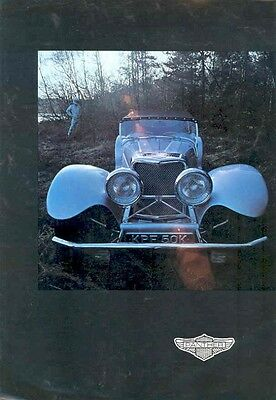 1975 Panther  Jaguar 6 Sales Brochure wb5139-G9YM32