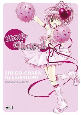 Shugo Chara! Illustrations Manga Artbook (Egmont Anime Art Book) NEU!