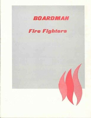 1973 Boardman Fire Truck Brochure GMC Reo Dodge Ford wx2047-VDEVD6