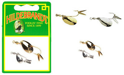 Pack Of 2 Hildebrandt Fly Flicker Spoon All Sizes.