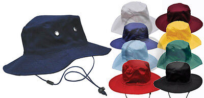 Surf Hat With Break Away Toggle Strap, 9 Colours Kids Adults School