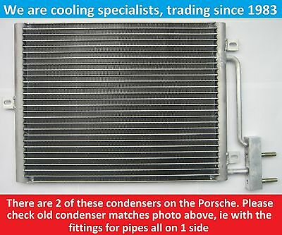Brand New Condenser (Air Conditioning Radiator) Porsche 911 / 996 / Boxster 986