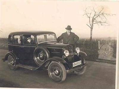 1934 1935 ? Opel Sedan in Germany ORIGINAL Photo wn6-TUG584
