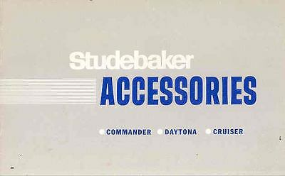 1965 Studebaker Accessories Brochure Canada wn6243-9SOPFH