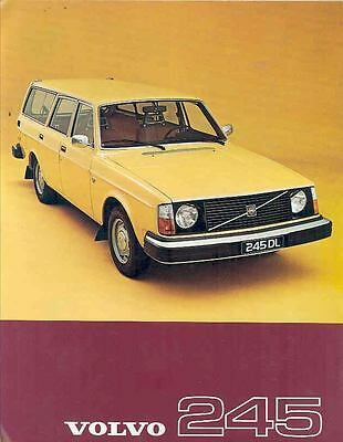 1977 Volvo 245 Station Wagon Sales Brochure Swedish wn7788-TMWHCQ