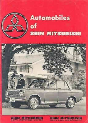1963 Mitsubishi Car Jeep Truck Bus Brochure Japanese wn8530-978BWK