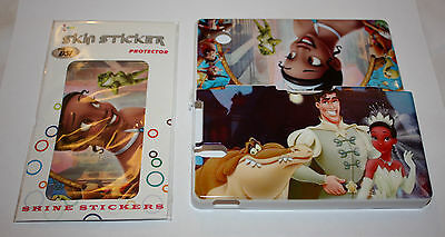Princess and the Frog DSi Hard Case Protective Cover Nintendo Skins Decals Game