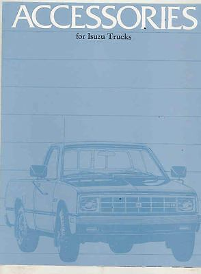 1982 Isuzu P'UP Pickup Truck Accessories Brochure ws3636-MPVUVT