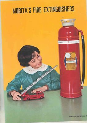 1960 ? Morita Fire Extinguisher & Fire Truck Brochure Japan ws4544-KWNZAK
