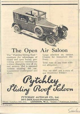 1927 Sunbeam Pytchley Sliding Roof Saloon Ad wl4986-XSKI7X