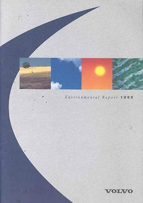 1995 Volvo Car Truck Bus Environmental Brochure wl5537-TX8NJG