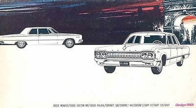 1965 Dodge Prestige Brochure Export German wk4461-VJPPP1