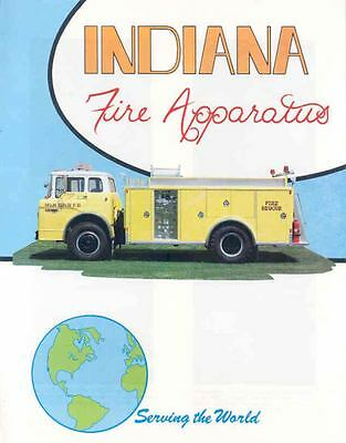 1982 Ford Indiana Fire Truck Brochure Palm Beach  wk5641-LC9D96