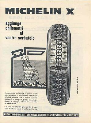 1962 Michelin X & Ceat Tire Ad Italy wk9323-XEJFPH