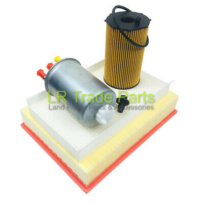 Land Rover Discovery 3 2.7 Tdv6 Service Filter Kit, Air, Oil & Fuel (2004-2006)