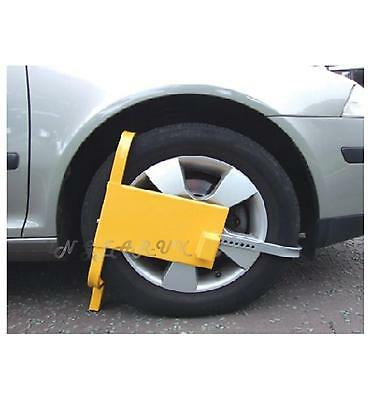 "X Large 21-26"" by 9"" Car Van Caravan Wheel Clamp Security Lock Safety Anti Theft"