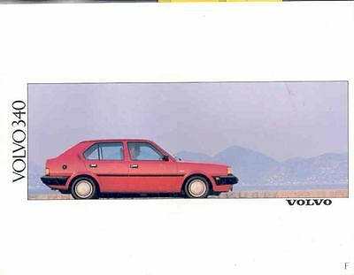 1990 Volvo 340 Prestige Brochure French Belgium wj9757-PH5OQS
