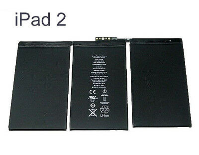 For Apple iPad 2 Internal Replacement Battery High Capacity A1395 A1396 A1376 3G