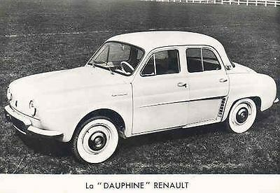 1958 Renault Dauphine Original Factory Photo wi816-FLPRX8