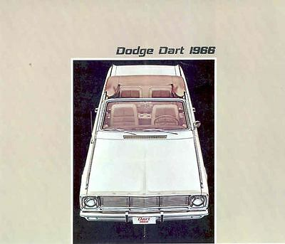 1966 Dodge Dart Sales Brochure Export French  wg4329-6T95DW