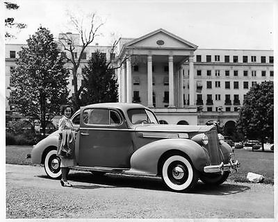 1939 Packard Eight 120 Business Coupe Factory Photo ad2204-RRD35M