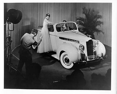 1940 Packard 110 Convertible Coupe Factory Photo ad2246-2UANA3