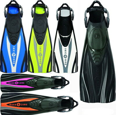 Aqualung Express ADJ Tauch  Reise  Geräte Flosse Technisub incl. Bungee Straps
